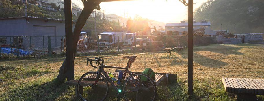 自転車でひたすら甲州街道を行く。埼玉→長野200kmロングライド