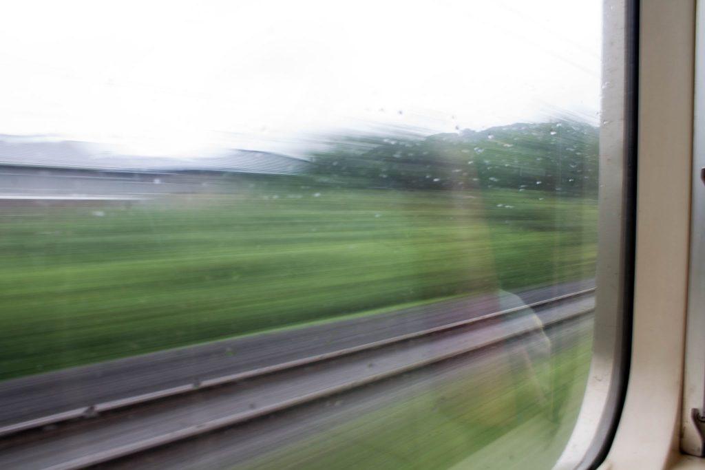 仙台行きの車窓
