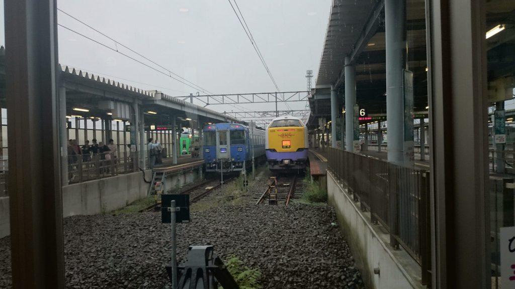 函館駅到着!