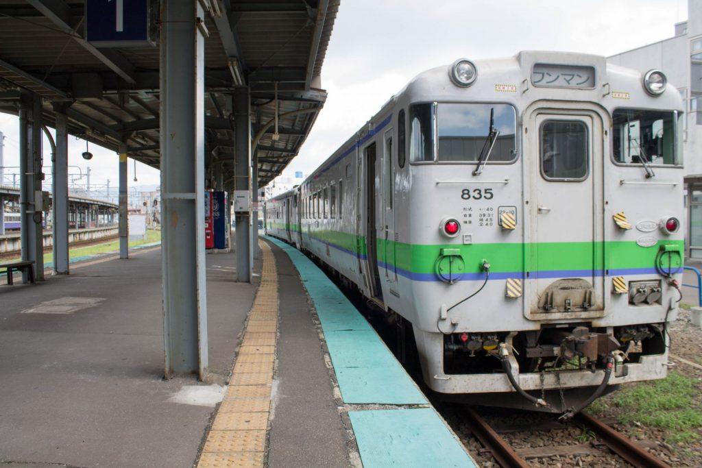 森行きワンマン列車