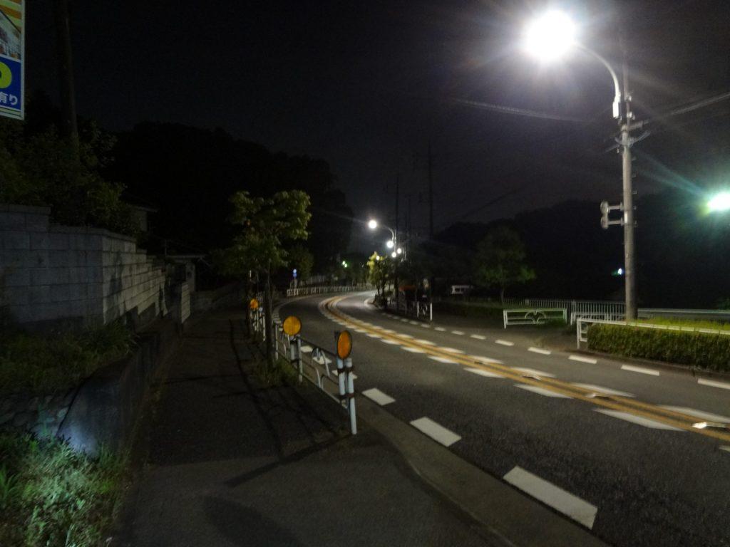 0:25 武蔵村山 9km地点