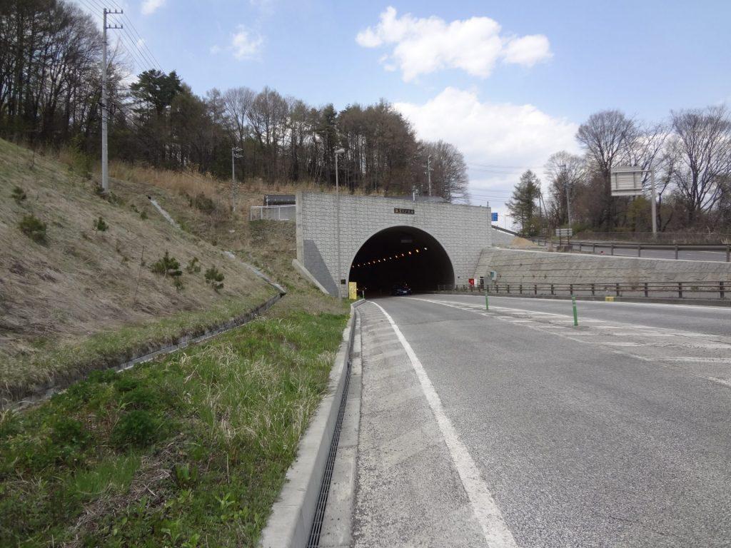 12:03 坂室トンネル 168km地点