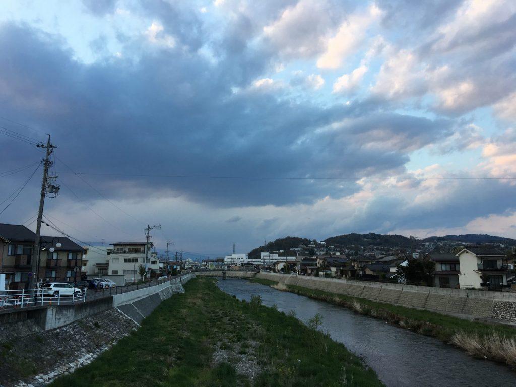 16:01 松本に着いた 214km地点