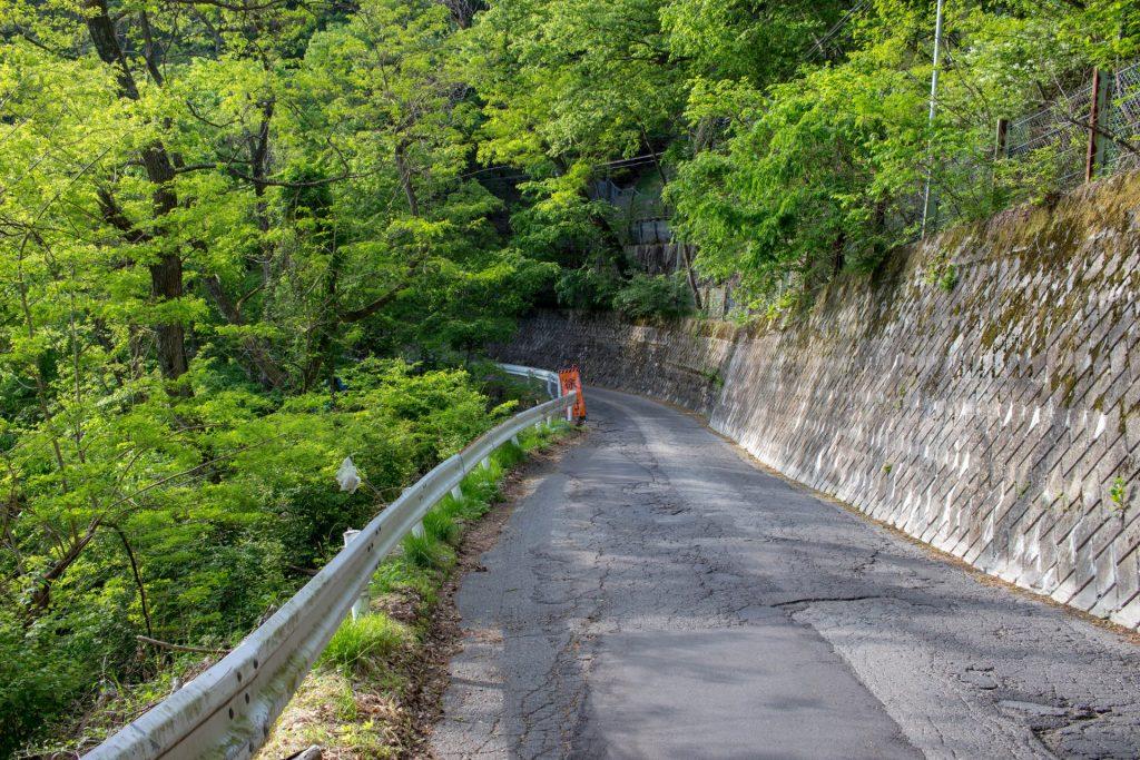 16:58 引き続き県道67号線を走る。