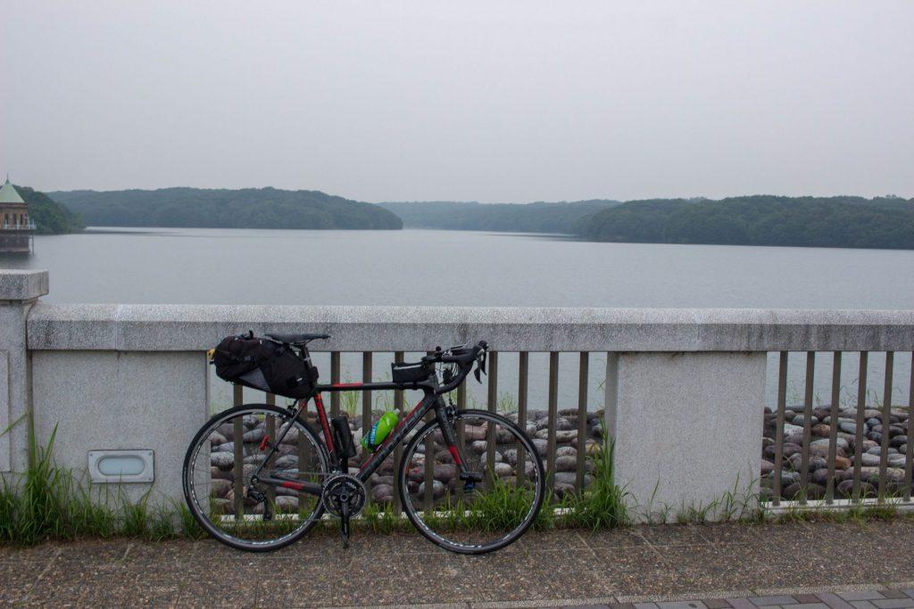 18:39 最後に狭山湖から。